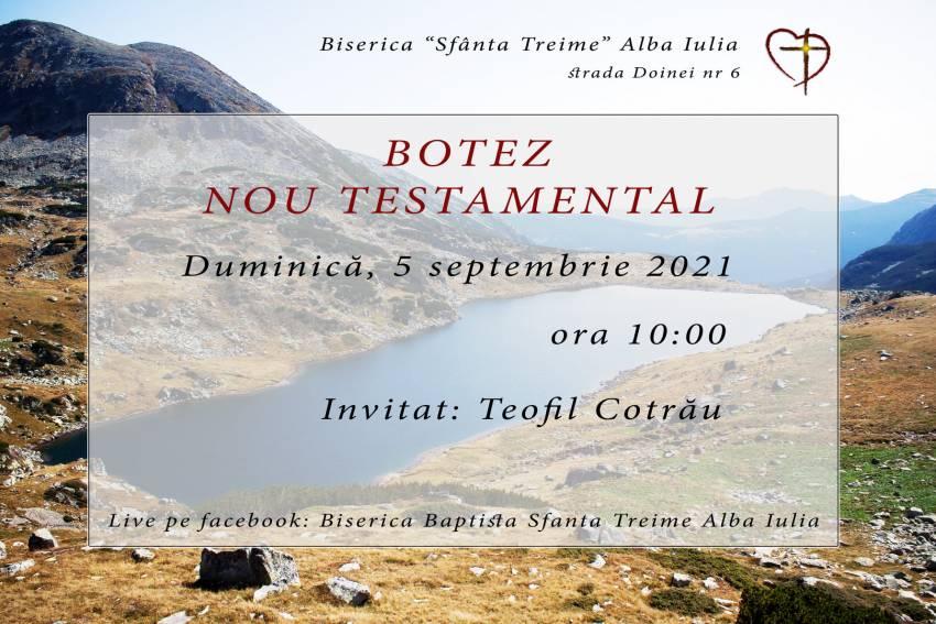 Botez la Biserica Sfânta Treime Alba Iulia ◉ Invitat: Teofil Cotrău