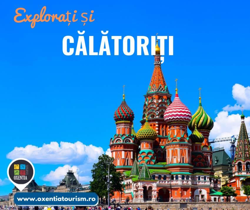 Moscova - CityBreak   Oxentia Tourism te invită într-o călătorie de neuitat în Moscova, o cultura imperială