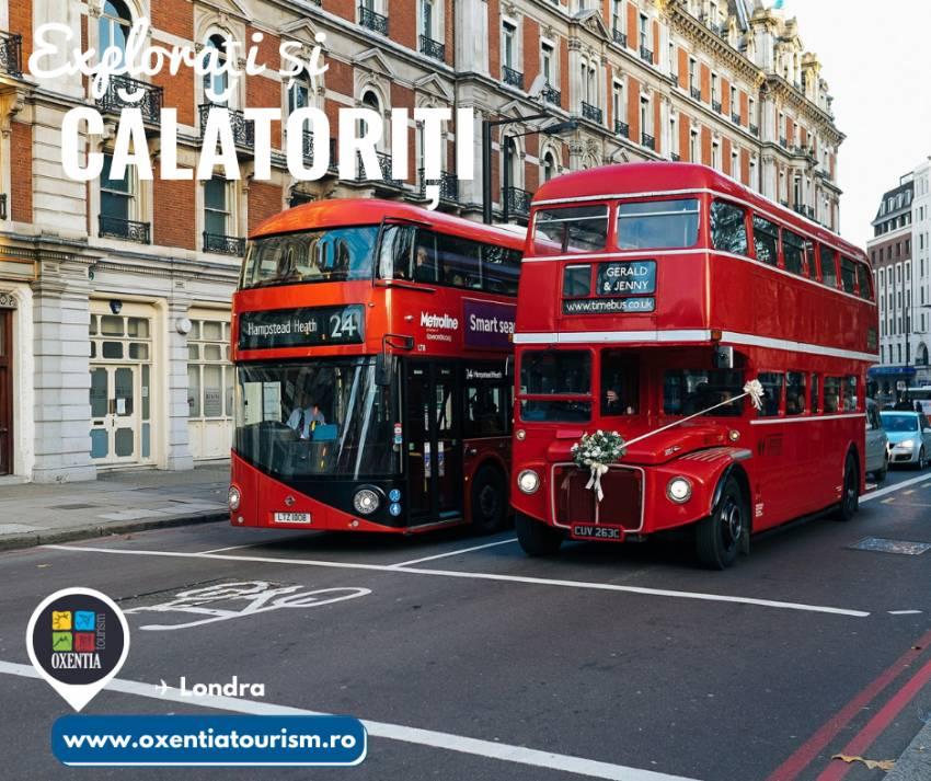 Londra - CityBreak   Oxentia Tourism te invită într-o călătorie de neuitat la Londra