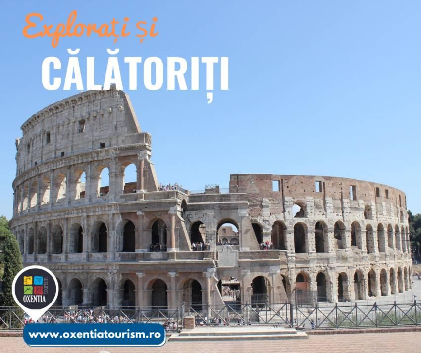 Roma - CityBreak   Oxentia Tourism te invită într-o călătorie de neuitat în Roma imperială