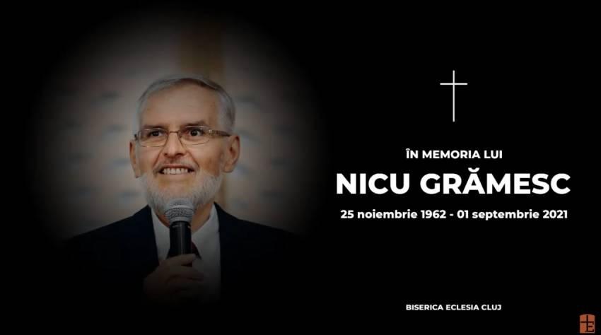 VIDEO: Priveghi Nicu Grămesc la Biserica Eclesia Cluj-Napoca