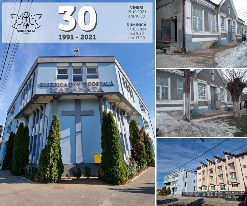Aniversare 30 de ani la Biserica Maranata Oradea